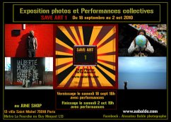 Exposition/Performances Save Art 1